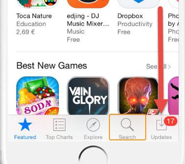 อัพเดทไลน์ iOS