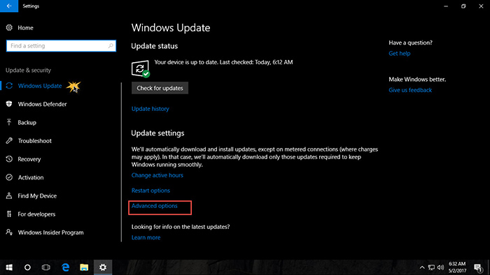 Pause Windows 10 Update-3