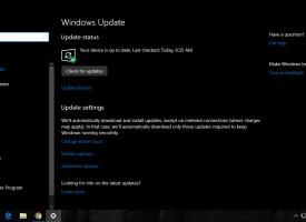 เปิด – ปิดการอัพเดต Windows 10
