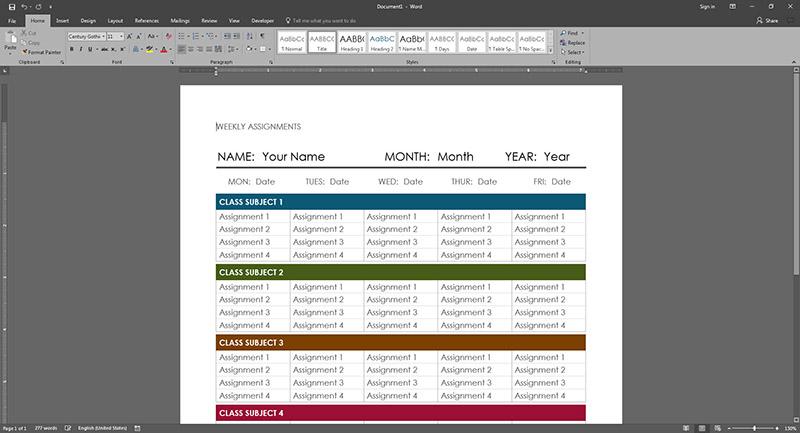 Save File PDF Microsoft Word 2016