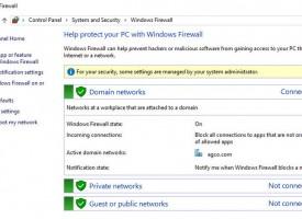 เปิด – ปิด ไฟร์วอลล์ Windows 10 (Firewall)