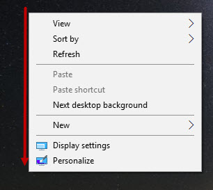 Windows 10 Spotlight-Menu