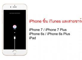 แก้ไข iPhone ขึ้นโลโก้ iTunes และสายเชื่อมต่อ