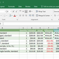 Excel ลบข้อมูลว่างเปล่า (Blanks) ออกจาก Column , Row