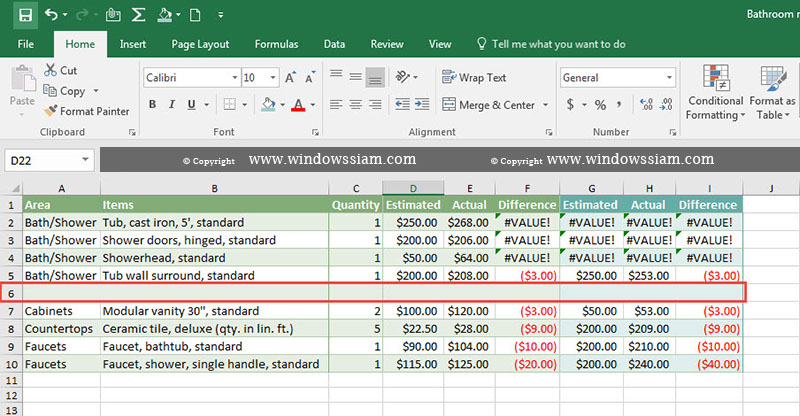 Delete Column Row Excel Blank Data4