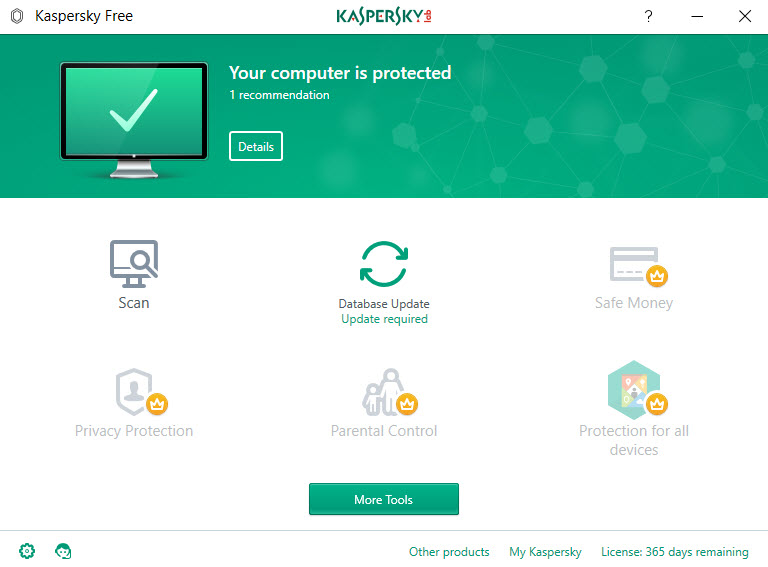 Kaspersky Free for Windows -13