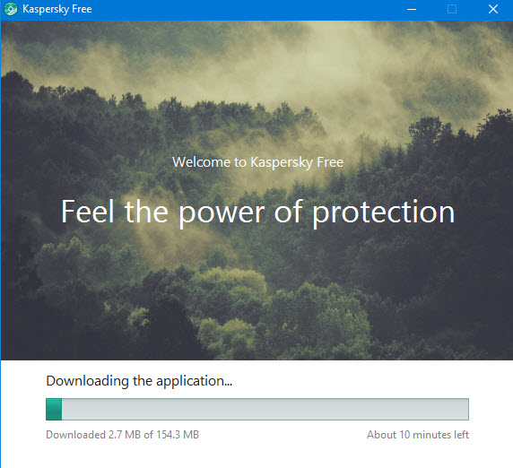 Kaspersky Free for Windows -7