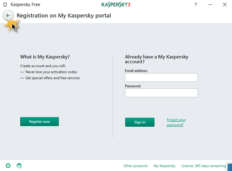 Kaspersky Free for Windows -9