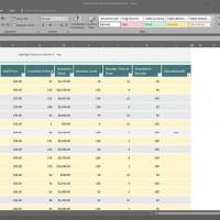 ปรับความกว้าง สูง   คอลัมน์ แถว Excel 2016 ในคลิกเดียว
