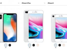 เปิดตัว iPhone X / iPhone 8 (ราคา / Spec เทียบกัน)