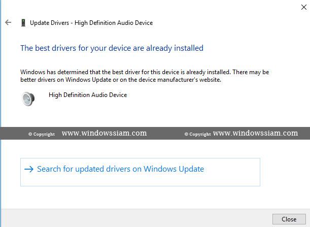 ดาวน์โหลดไดร์เวอร์เสียง Windows 10 / 8 1 / 7 Realtek