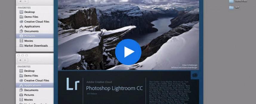 ดาวน์โหลด Adobe Lightroom CC