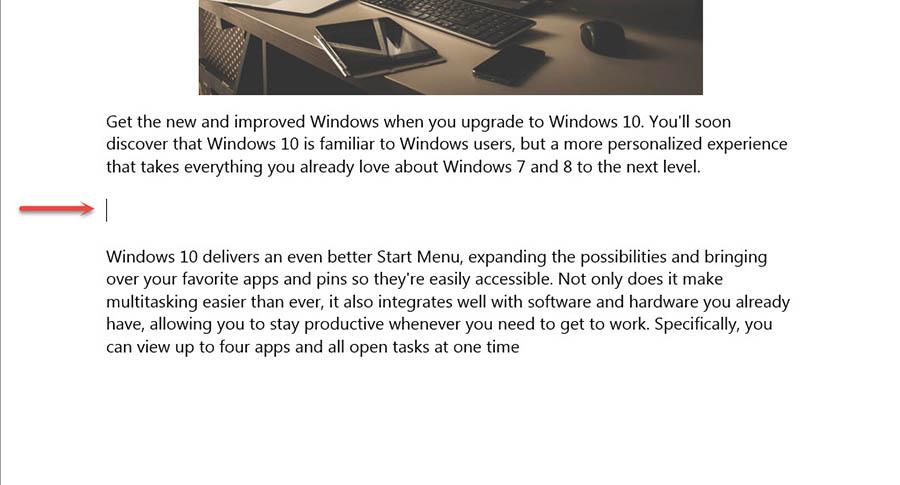 Insert Microsoft Word 2016 -2013-3