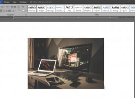 การแทรกรูป Insert Picture Microsoft Word 2016|2013