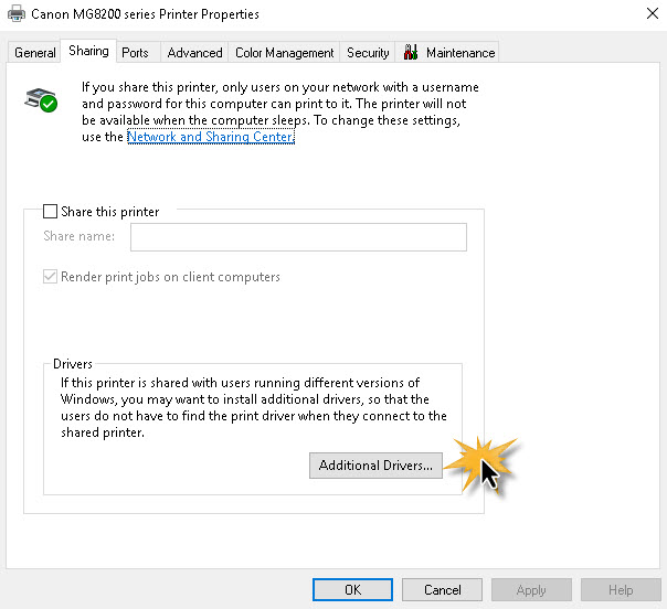 Share Printer Windows 10 -Windows 7-4