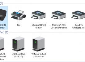 แชร์ปริ๊นเตอร์ข้ามเวอร์ชั่น Windows 10 – Windows 8.1 – Windows 7