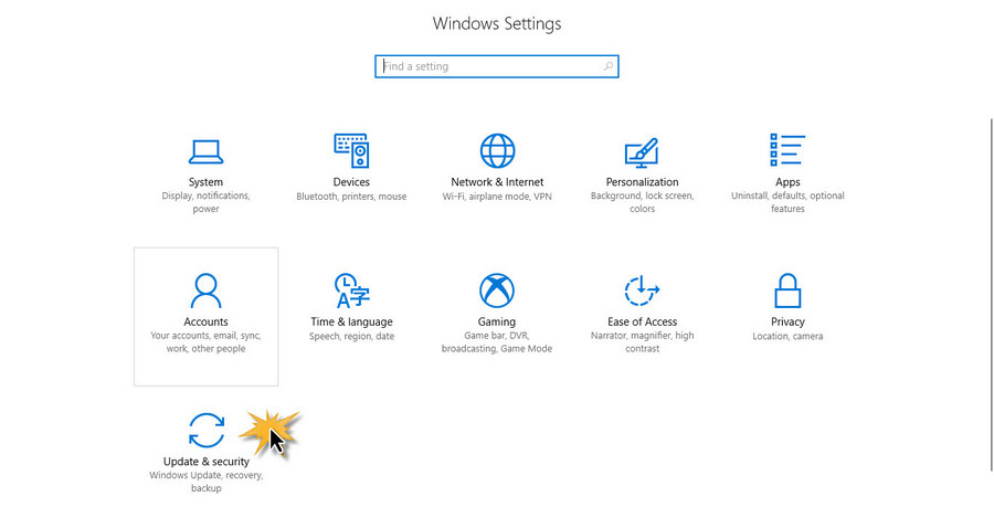 Windows 10 Setting2