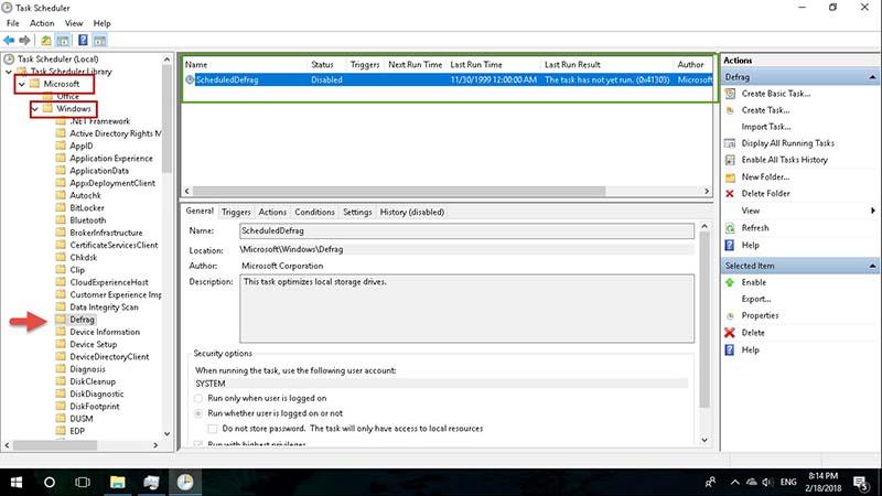 Fix Disk 100 Windows 10 -3