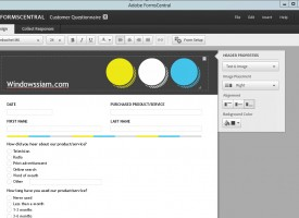 โปรแกรมสร้างแบบฟอร์ม pdf (Adobe Acrobat XI Pro)