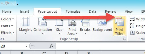 Print Area Excel -5