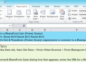 Print Area Excel 2013 – 2016 ปริ้นเฉพาะส่วนที่ต้องการ