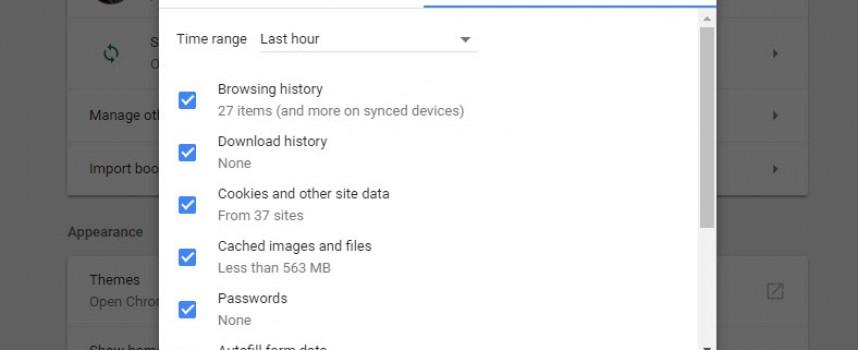 ลบ Clear Cache Google Chrome ยังไง วันนี้มีคำตอบ