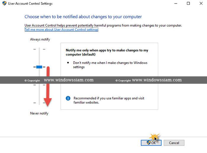 Disable UAC Windows 10-3