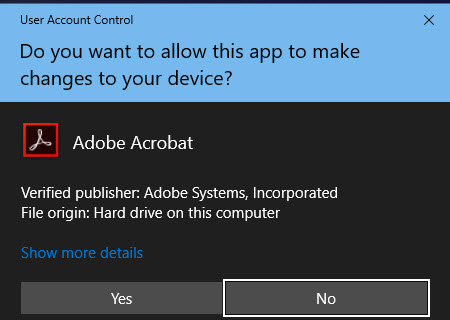 Disable UAC Windows 10-4