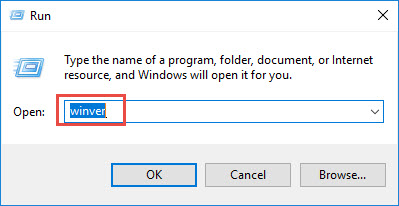 ตรวจสอบเวอร์ชั่น Windows 10-2