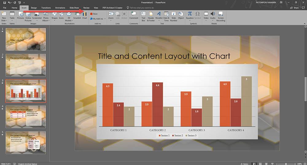 พื้นฐานการใช้ Microsoft PowerPoint 2016-5