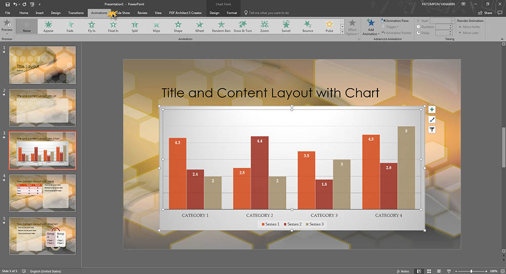 พื้นฐานการใช้ Microsoft PowerPoint 2016-6