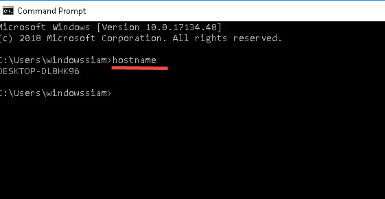 วิธีดูชื่อคอมพิวเตอร์ Windows 10-4