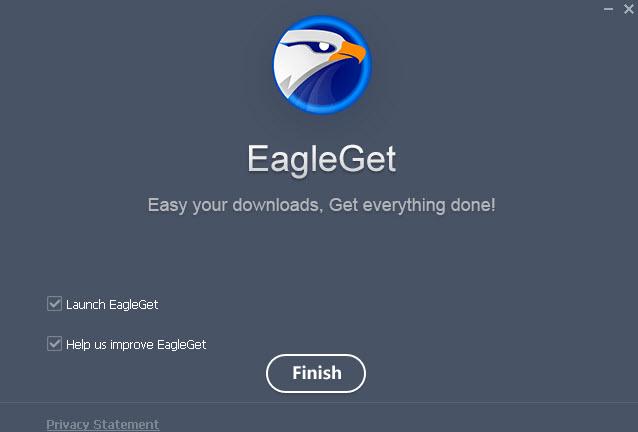 โปรแกรมช่วยดาวน์โหลด EagleGet-3