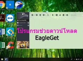 โปรแกรมช่วยดาวน์โหลดฟรี EagleGet ของฟรีดีๆก็มีนะ