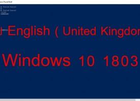 การแก้ไข Windows 10 1803 มี English UK กับ US 2 อันลบไม่ได้