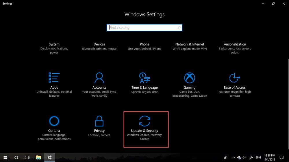 Windows 10 version 1803-2