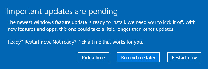 Windows 10 version 1803-4