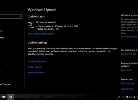 อัพเดท Windows 10 เวอร์ชั่น 1809 / 1803 ละเอียดทุกขั้นตอน