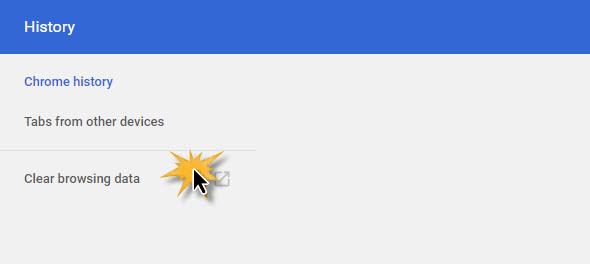 ลบประวัติการค้นหา การเข้าเว็บไซต์ Google Chorme-4