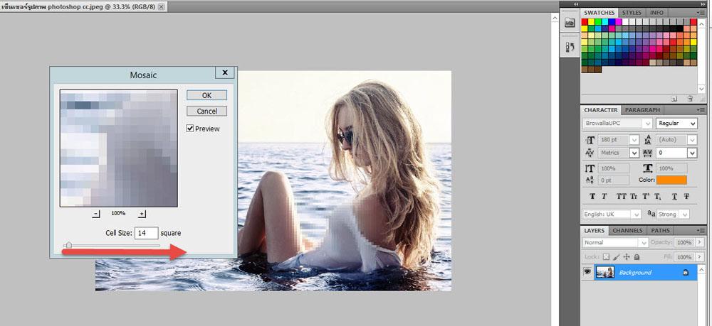 เซ็นเซอร์รูปภาพ Photoshop-7