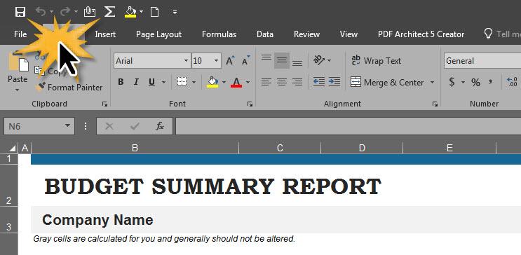 แปลงไฟล์ Excel เป็น PDF-1