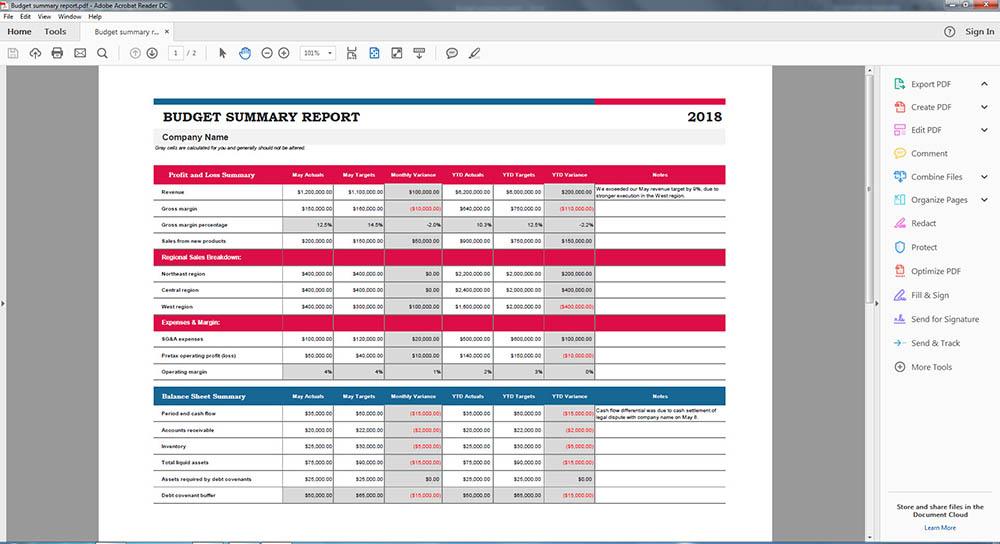 แปลงไฟล์ Excel เป็น PDF-Cover