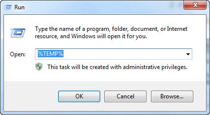 ลบไฟล์ขยะ Windows 7-3