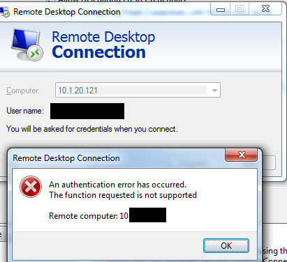 Remote Desktop Authentication Error Has Occurred-2