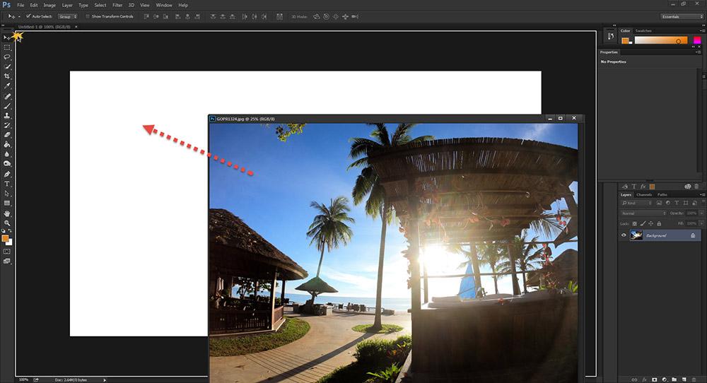 ซ้อนรูปภาพ Photoshop-5