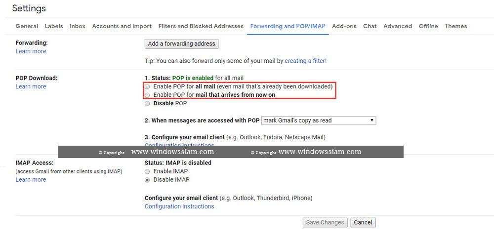 ดูดอีเมล์ @Gmail ใส่ Outlook-8