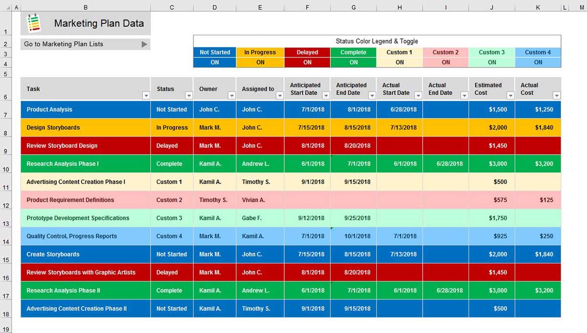 ใส่สีเซลล์พื้นหลัง Excel-Cover