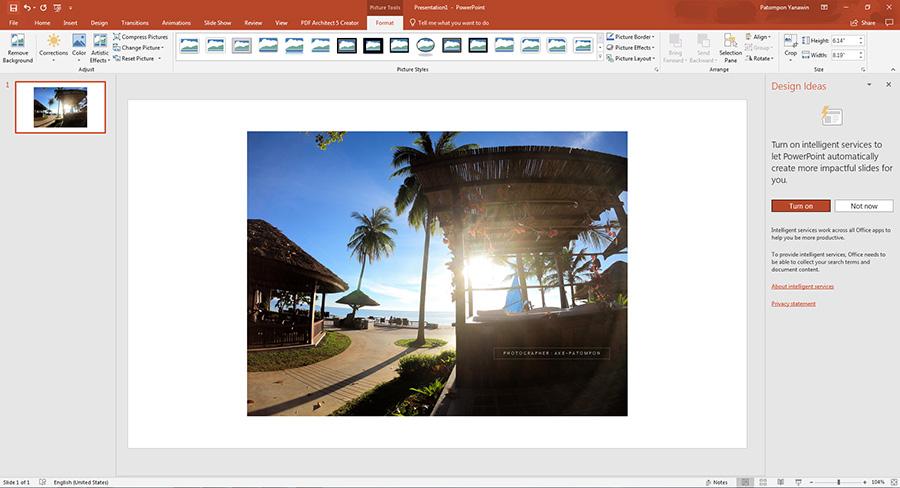 กลับด้านรูปภาพ Word - PowerPoint-5
