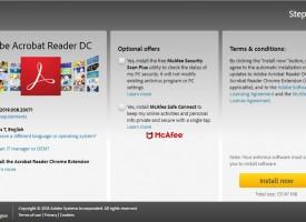 ดาวน์โหลดโปรแกรม PDF ( Adobe Acrobat Reader DC )