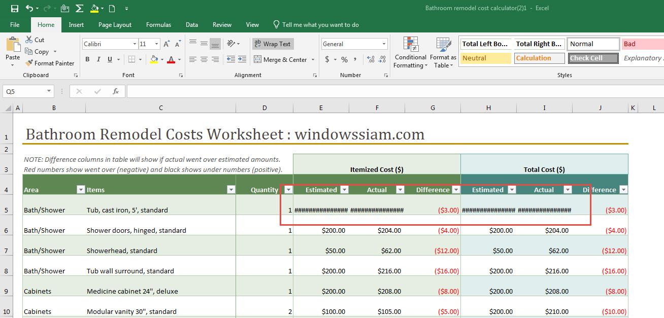 Excel แสดง ###-1
